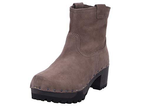Softclox S3354 INKEN Kaschmir - Damen Schuhe Stiefel - 27-Dark-Taupe, Größe:39 EU