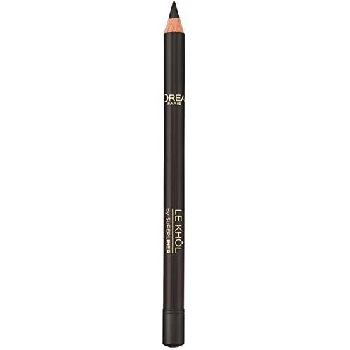 L'Oréal Paris MakeUp Matita Occhi Superliner Le Kohl, 101 Midnight Black