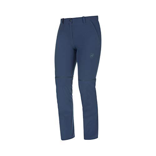 Mammut Damen Wander-Hose mit Reissverschluss Runbold Zip Off, blau, EU 38