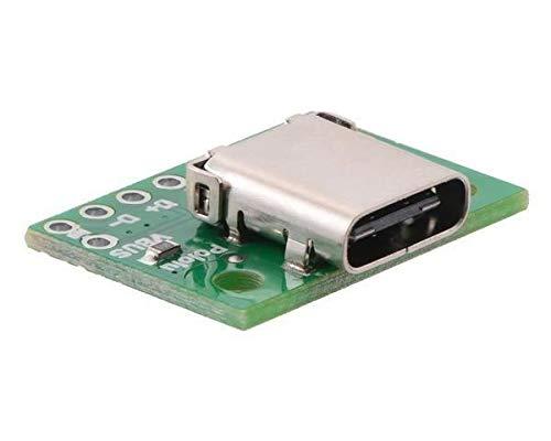 Pololu Conector USB 2.0 tipo C. 2