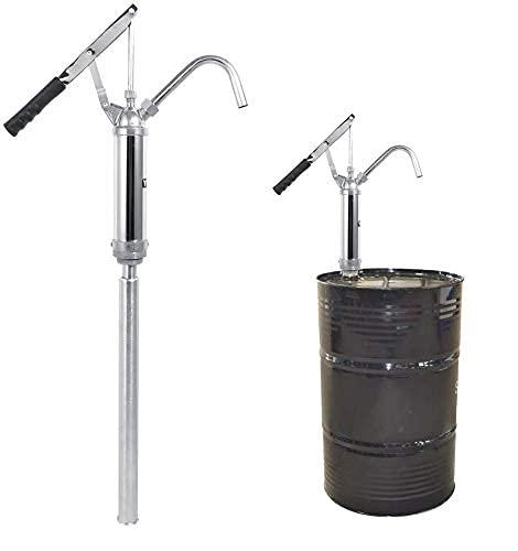Hebel-Ölfass-Pumpe, Pumpe für ölfass Ölfaßpumpe mit Hebel, Manuell Wasserpumpe Fasspumpe Hebel Wasser Handpumpe für Diesel Kerosin Getriebeöl Motoröl 20 l/min