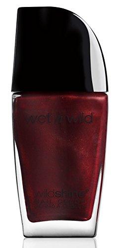 Wet N Wild Nagellack – Wild Shine Nail Color / Trend-setzende Nagelfarbtöne, Burgundy Frost, 1...