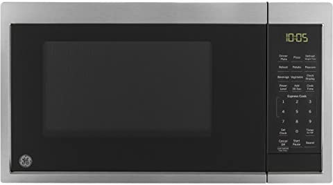 GE Appliances JES1095SMSS GE 0 9 Cu Ft Capacity Countertop Microwave Oven Stainless Steel product image