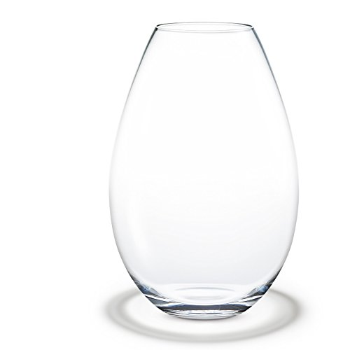 Cocoon Floor vase. clear. H 20 5 cm