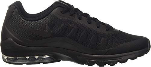 Nike Air Max Invigor, Zapatillas Hombre, Negro (Black / Black-Anthracite), 43 EU