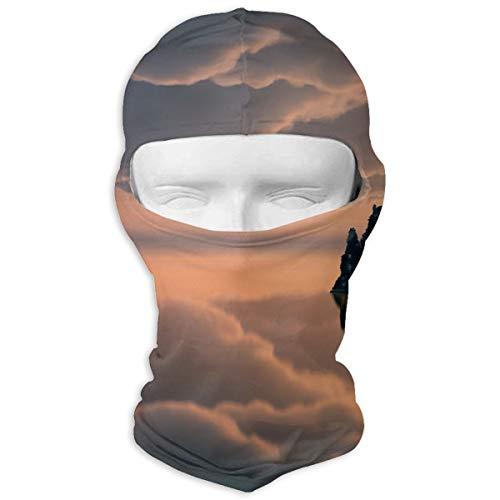 Sitear mooiste waterlandschappen behang gepersonaliseerd volledig gezicht masker kap hals warm voor mannen en vrouwen outdoor sport winddicht zonnebrandcrème