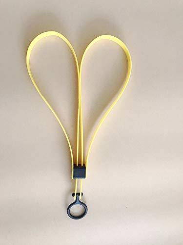 Kunststoff-Kabelbinder Handschellen CS Sport dekorativer Gürtel TMC Sport Gear Einweg-Flex-Kabelbinder Caborange gelb schwarz 2 Stück