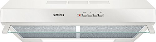 Siemens LU63LCC20 iQ100 Dunstabzugshaube mit Drucktastenschalter, 60 cm