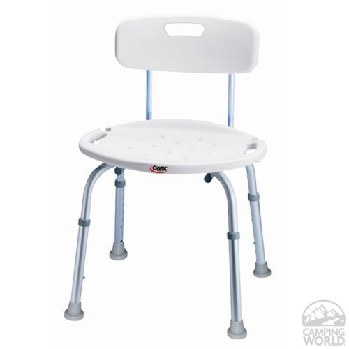 Carex Carex Adjustable Bath and Shower seat with Back