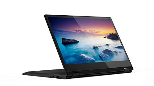Lenovo Flex 14 2-in-1 Convertible Laptop, 14-Inch HD (1366 X 768) Touchscreen Display, Intel Pentium Gold 5405U, 4GB DDR4 RAM, 128GB NVMe SSD, Windows 10, 81SQ000EUS, Onyx Black (Renewed)