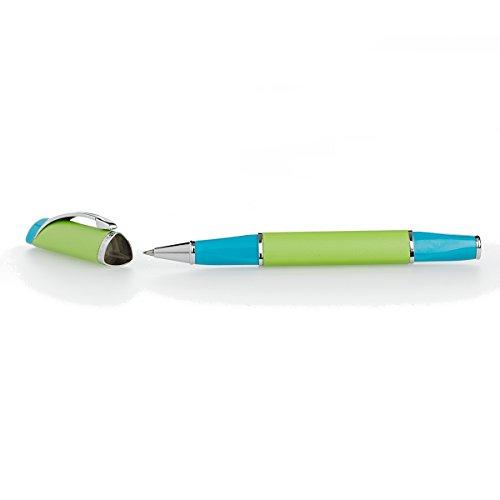 """Triangular""""Faith - Hope - Love"""" Writing Pen (Green/Blue) Photo #3"""
