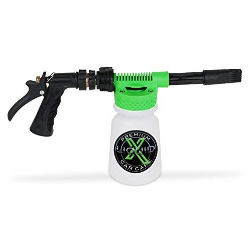 Liquid X Foam Wash Gun - Car Washing Made Simple! - Works with Regular Garden Hose (Foam Gun)