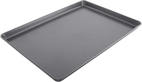 Chicago Metallic Non-Stick Extra Large Cookie Baking Sheet, 15″-by-21, Metallic Gray (Singlе расk)