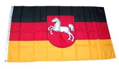 Fahne/Flagge Niedersachsen 60 x 90 cm Fahnen Flaggen