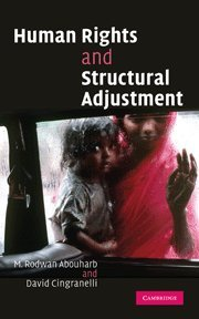 Compare Textbook Prices for Human Rights and Structural Adjustment  ISBN 9780521859332 by Abouharb, M. Rodwan,Cingranelli, David