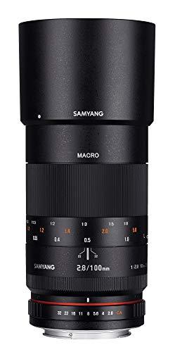 Samyang 100mm F2.8 Objektiv für Anschluss Canon EOS