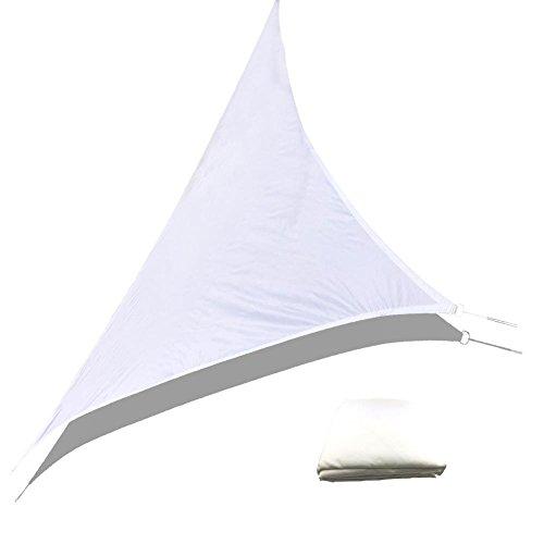 circulor Sonnensegel, Dreieckssegel Markise Wasserdichtes Gewebe UV-Schutz Beständig Und Atmungsaktiv Für Gartenterrasse Balkon