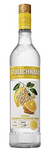Stolichnaya Vodka STOLI CITROS Flavored Vodka 37,5% Vol. 0,7 l