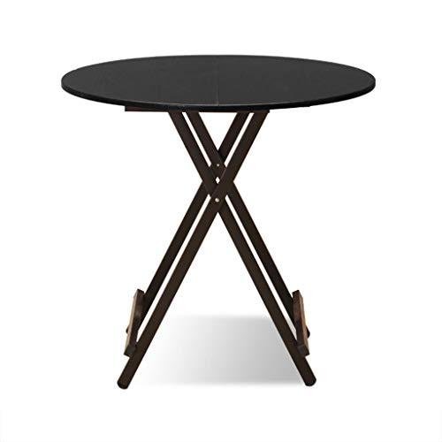 NYDZ Table Pliante en Bois Massif, Traiteur de Cuisine et Table Basse en café (Color : Style-2)
