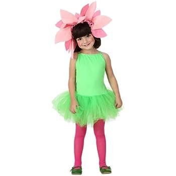 Atosa - Disfraz de flor para niña, talla 104 cm (8422259169215 ...
