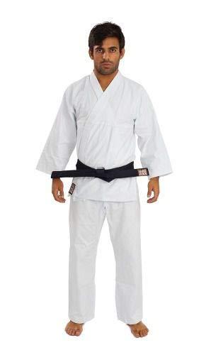 Kimono Reforçado Karatê Branco - Haganah/Torah