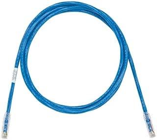PANDUIT UTP28SP 28 AWG RJ45-RJ45 Cat6 CM/LSZH SD UTP Copper Patch Cord (Pack 10) (15FT, Blue)