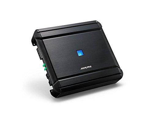 Alpine MRV-V500 Amplificador digital mono con 4 canales, Negro