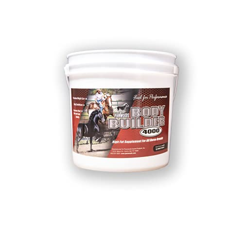Pennwoods Equine Products Body Builder 4000 - 11 LBS   Body Conditioning   Weight Gain   Horse Supplement   Horse Vitamin   Improved Hoof Quality   Performance