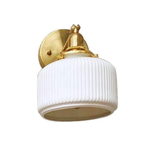 YAOLUU Lampara Pie Lámpara de Pared de cerámica de latón, lámpara de Noche, lámpara de Pared para el Estudio y Dormitorio. Lampara Lectura