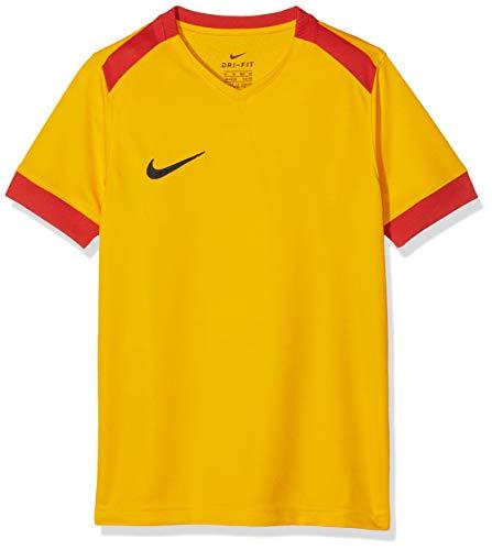 Nike Dry Park Derby JSY SS Maglietta Sportiva A Maniche Corte, Unisex Bambini, University Gold/University Red/Black, S