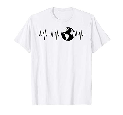 Feliz Da de la Tierra 51 Aniversario Maestro de latido del Camiseta