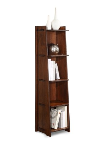 Legare Craft Bookcase, 57 by 16-Inch, Espresso Bamboo