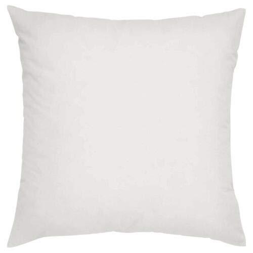 Hohlfasergefüllter Kisseneinsatz, dekorativer quadratischer Kisseneinsatz, für Sofa, Stuhl, Bett, 40 x 40 cm, 1 Stück