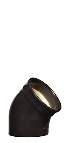 Emile Henry Eh790201 Main à Sel Céramique Noir Fusain 10 X 10 X 13,5 cm
