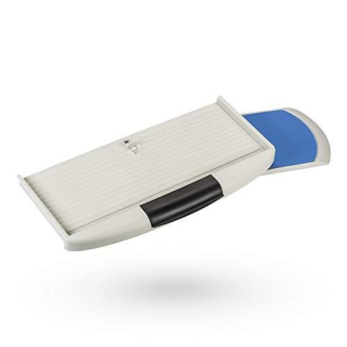 Gris. Teclado deslizable con extracto del ratón teclado portapapeles teclado cajón pc teclado