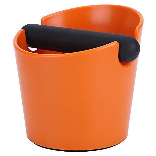 SOONHUA Klopfbox für den Haushalt, rutschfest, für Kaffeemühle, Orange