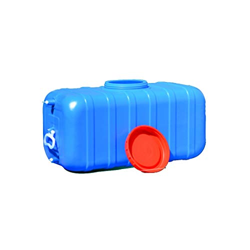 Contenedor de Agua Multifuncional Portador De Almacenamiento De Agua 45L/75L/100L Cuadrado Cubo De Plástico/Cubos De Plástico De Calidad Alimentaria Ser Aplicable Envase Agua Que Acampa Para Acampada