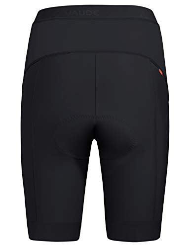Vaude Damen Advanced Pants III Radhose mit funktionellem Sitzpolster Hose, Black, 34 - 2