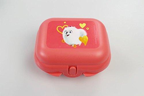 TUPPERWARE Mini Caja Cofre Pets pastel de naranja 14696