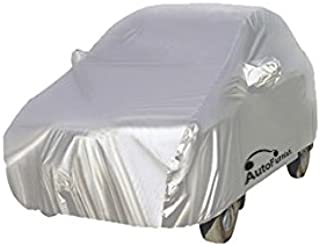 Autofurnish Silver Car Body Cover (with Mirror Pockets) Compatible with Renault Duster Silver