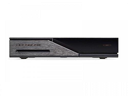 Dreambox DM525 HD Combo 1x DVB-S2 / 1x DVB-C/T2 Tuner PVR Ready Full HD 1080p H.265 Linux Receiver schwarz