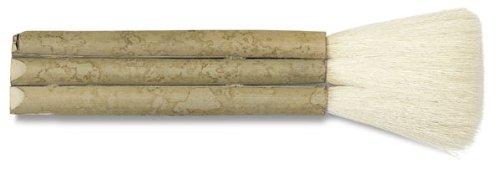 Yasutomo Hake Multihead Bamboo Brush with Sheep Hair Bristles, 1 inch (BH3)
