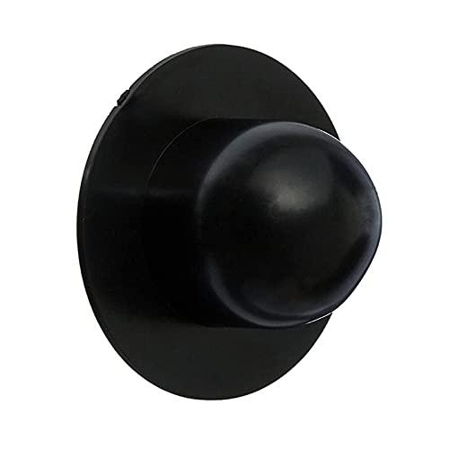 GONGYING Wandsteckerfitting, Ersatzfitting Schwimmbadfilterpumpe Siebstopfen für Poolteile (schwarz, 2.17x2.17x1.19zoll)