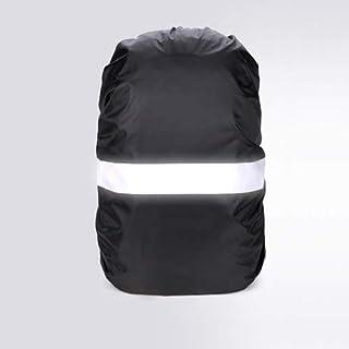 X-Baofu, Funda for Lluvia Mochila Reflectante 20L 35L 40L 50L 60L Bolsa Impermeable Camo Tactical Acampar al Aire Libre Senderismo Escalada Cubierta de Polvo (Color : Negro, tamaño : 50 70L)