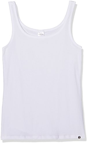 Schiesser Mädchen 95/5 Top Unterhemd, Weiß (Weiss 100), 176 (Herstellergröße: L)
