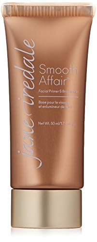 Jane Iredale Smooth Affair Facial Primer and Brightener, 1.7 Fluid Ounce