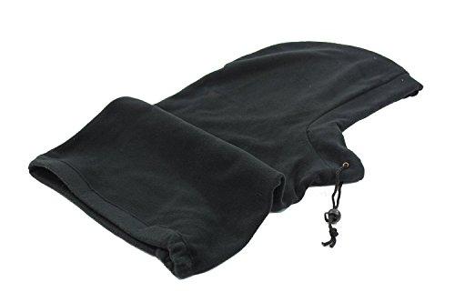 Passe-montagne en polaire unisexe pour adulte avec lien de serrage Taille unique Disponible en 3 coloris : noir, gris et bleu marine Idéal pour la pêc