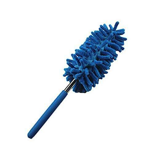 Depory Plumero de Microfibra Suave y Extensible, Limpieza de casa, Mango Largo, retráctil, para artículos frágiles, para el Coche, la Oficina o el hogar (Flexible)