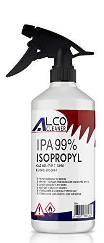 Price comparison product image IPA ISOPROPYL Alcohol ISOPROPANOL 500ML 99.9% Pure Multipurpose Trigger Spray