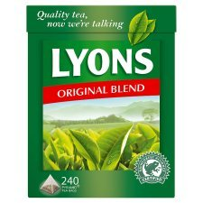 Lyons Original Irish Tea 240 Bags - Irish Pyramid Teabags